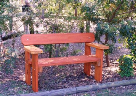 Bench With Arm Rest