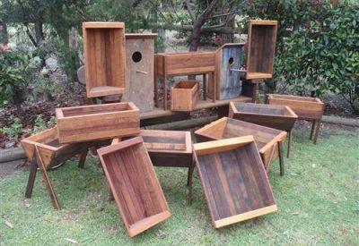 Bush Furniture Man Planter Boxes