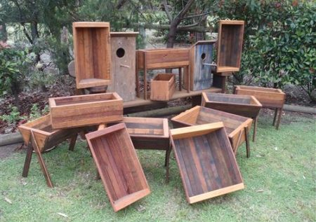 Bush Furniture Man Planter Boxes