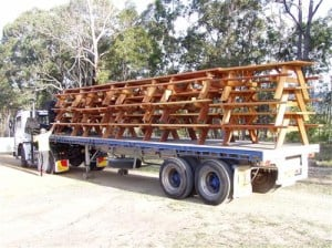 Bush Furniture Man delivers custom outdoor furnishings for home or commercial use and commercial bulk orders all over Australia, NSW, Melbourne, Brisbane and Sydney